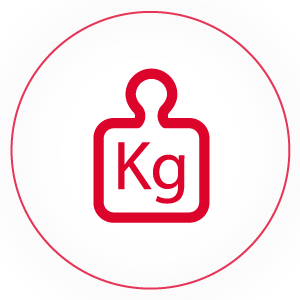 Capacidade de carga (kg)