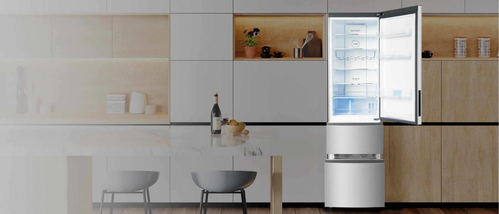 Трехкамерные холодильники 637