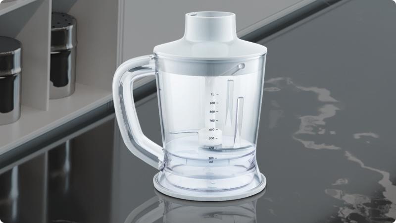 Чаша-измельчитель с удобным извлечением продукта