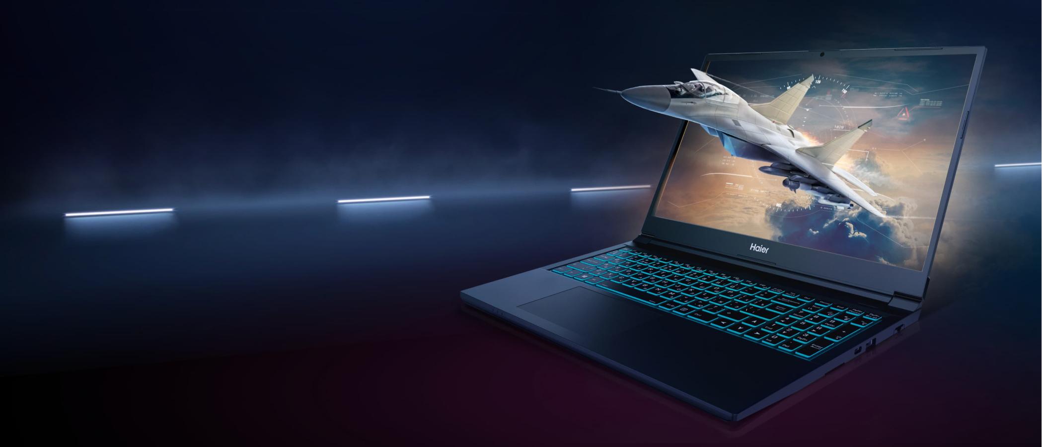 Игровой ноутбук Haier GG1500A