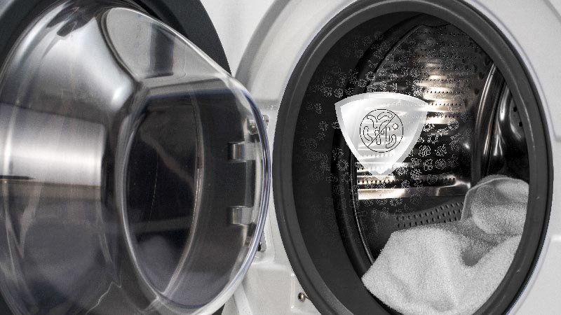 A cleaner machine means cleaner laundry