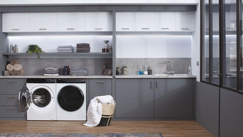 The impressive washing capacity