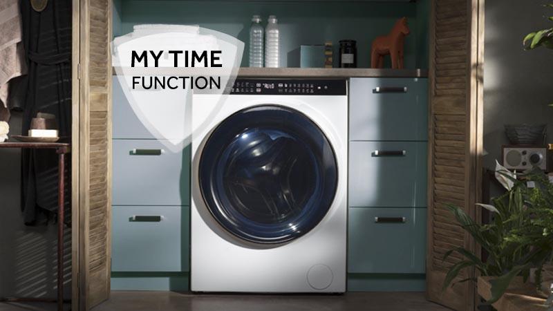 Flessibilità totale in termini di durata del ciclo di lavaggio.