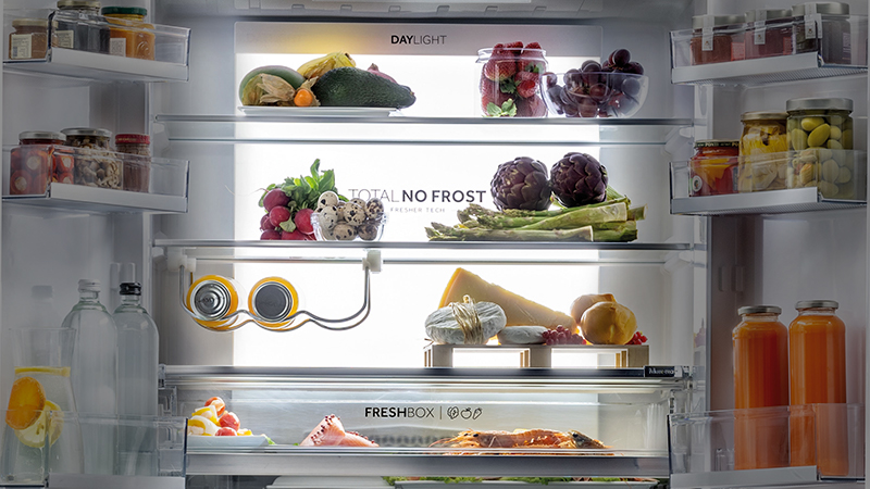 Illuminate your fridge with Haier's Daylight