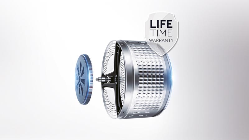 Simple. Efficient. Durable. Haier's Direct Motors will last a lifetime