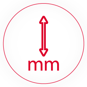 Product height (mm)