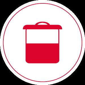 Объем контейнера для пыли (л)